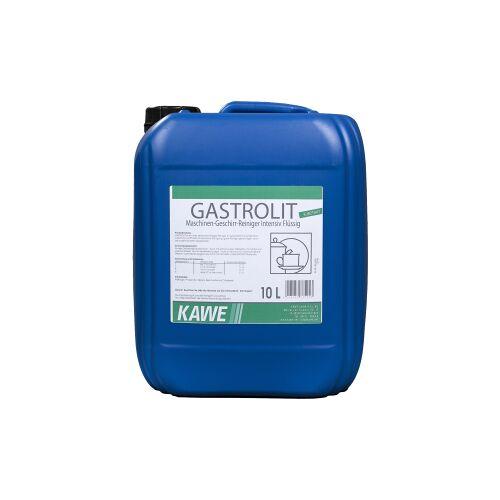KAWE GmbH & Co. KG KAWE Gastrolit Spülmaschinenreiniger, Flüssig-Reiniger für gewerbliche Spülmaschinen, 10 l - Kanister