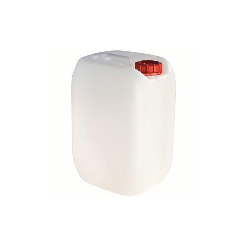 Teko-Plastic Kunstoffwerke E. Schröck GmbH Camping-Wasserkanister, weiß, aus Kunststoff, leerer Kanister, 25 Liter - Kanister