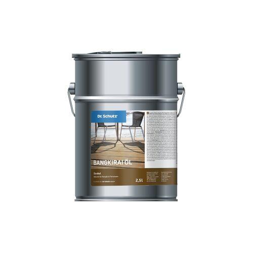 Cc Dr. Schutz®  Terrassenöl Bangkirai, Dunkel, Naturöl für Bangkirai Terrassen, 2,5 l - Dose