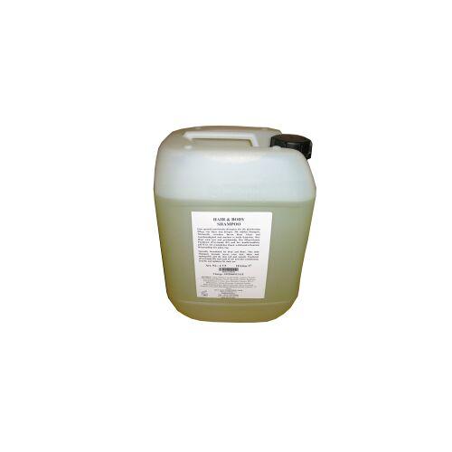Sauvage Cosmetique GmbH Sauvage Nachfüllkanister für Magic Bottle System, 10 l - Kanister, Hair & Body Shampoo mit Ginkgo-Aloe Vera
