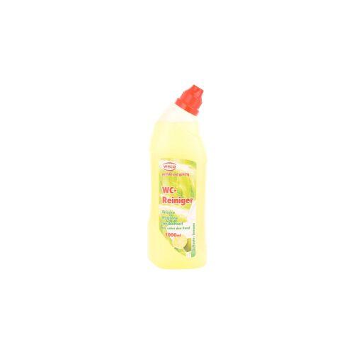 Weco GmbH WECO WC-Reiniger, 1000 ml - Flasche, Lemone