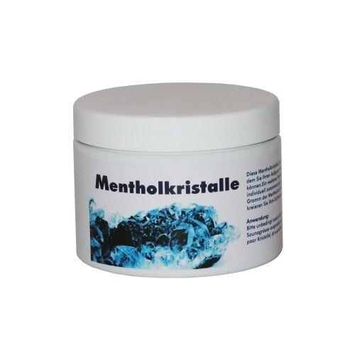 WARDA-DUFTÖLE Mentholkristalle für die Sauna, Überzeugen Sie sich von der Qualität!, 100 g - Dose