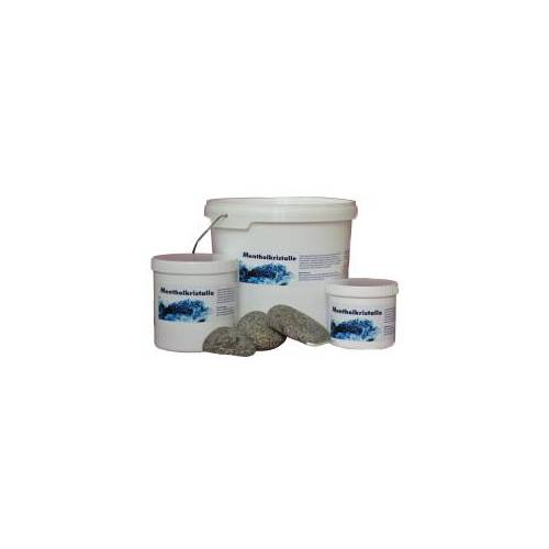 WARDA-DUFTÖLE Mentholkristalle für die Sauna, Überzeugen Sie sich von der Qualität!, 50 g - Dose