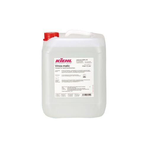 Kiehl-Unternehmens-Gruppe Kiehl Vinox-matic Spülmaschinen-Entkalker, Entkalker für Geschirrspülmaschinen, 10 l - Kanister