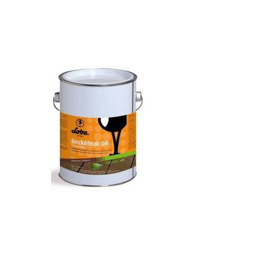 LOBA GmbH & Co. KG LOBA LOBASOL® Deck & Teak Oil Color Spezialöl, Transparentes Spezialöl für den Außeneinsatz, 2,5 l - Eimer