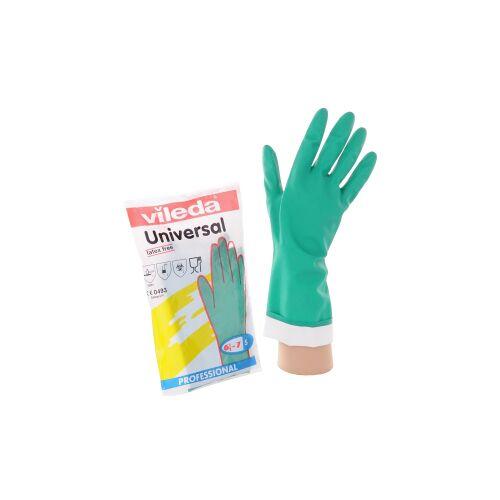 Vileda Professional Nitrilhandschuh, Vielseitiger Handschuh mit hoher Chemikalienbeständigkeit, Größe: M (8)
