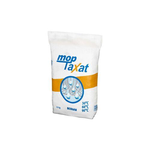 Ecolab GmbH & Co. OHG ECOLAB mopTaxat Vollwaschmittel, Spezialwaschmittel für die Mopp-Wäsche, 15 kg - Papiersäcke