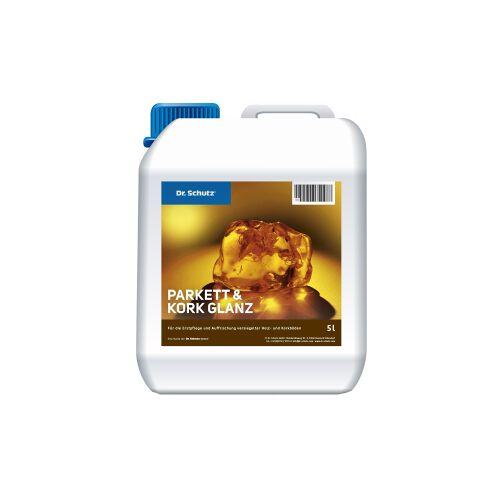 Cc Dr. Schutz® Parkett und Kork Glanz, Für die Erstpflege und Auffrischung versiegelter Holz- und Korkböden, 5 l - Kanister