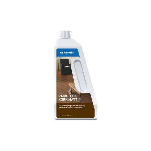 Cc Dr. Schutz® Parkett und Kork Matt, Für die Pflege von Holz- und Korkböden, 750 ml - Flasche