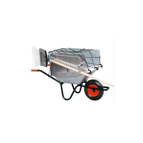 FLORA Abdecknetz, Elastisches Abdecknetz mit Haken, zur Sicherung der Ladung