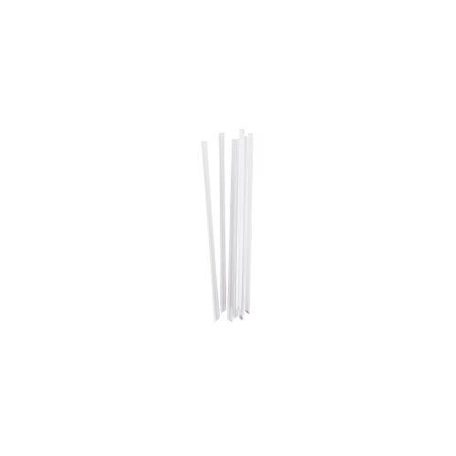 Duni GmbH & Co. KG DUNI Bio-Strohhalm, Trinkhalm aus PLA, 19,6 cm lang, 1 Karton = 100 x 100 Stück = 10000 Strohhalme