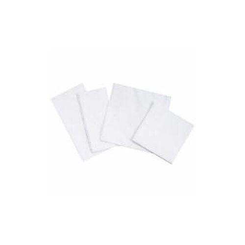 Servietten, 33 x 33 cm, 2-lagig, weiß, 1/8 Falz, Feste, saugstarke Papier-Serviette, 1 Packung = 250 Stück