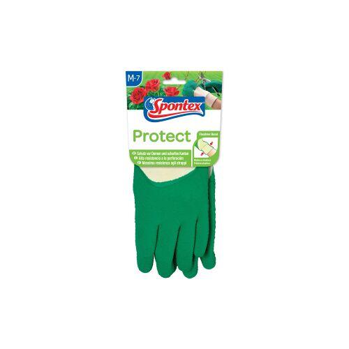 Mapa GmbH Spontex Protect Gartenhandschuh , Handschuh für Hecken, Dornen und scharfe Kanten, 1 Paar, Größe: 7-7,5