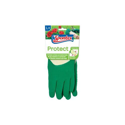 Mapa GmbH Spontex Protect Gartenhandschuh , Handschuh für Hecken, Dornen und scharfe Kanten, 1 Paar, Größe: 8-8,5