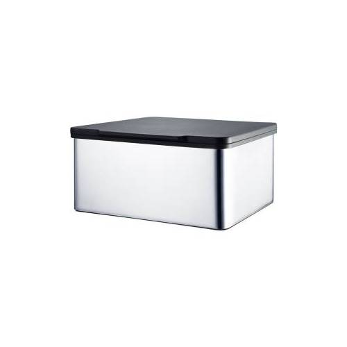 Blomus GmbH Blomus MENOTO Feuchttücherbox , Aus hochwertigem Edelstahl, Edelstahl poliert, Kunststoff