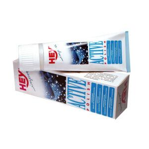 SCHWEIZER EFFAX GMBH HEY-IMPRA Active Polish Schuhpflege, bes. geeignet für Schuhe mit Membran-Ausstattung, 75 ml - Tube, farblos