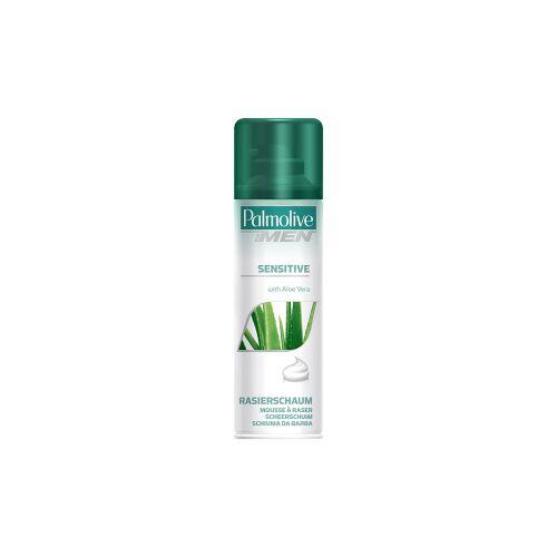 Colgate Palmolive GmbH (CP GABA GmbH) Palmolive Men Rasierschaum Sensitive, Mit Aloe-Vera-Extrakt, 300 ml - Dose