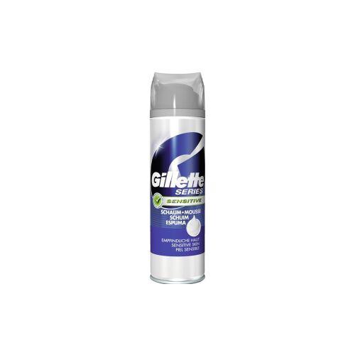 Procter & Gamble Service GmbH Gillette Series Schaum Sensitive Rasierschaum, Rasierschaum mit Aloe Vera, 250 ml - Dose