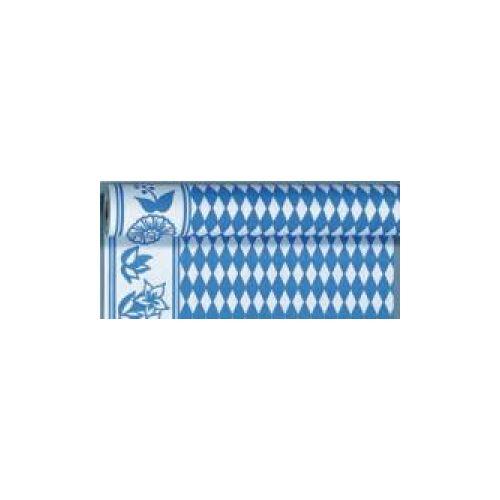 Duni GmbH & Co. KG DUNI Tischdeckenrollen aus Dunicel mit Motiv, Tischdecke mit dem Motiv der Bayerischen Raute, 1 Karton = 1 Stück