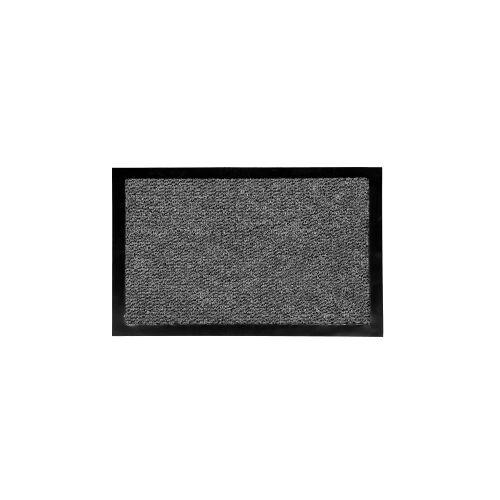Otto-Golze & Söhne GmbH Golze Granat Schmutzfangmatte, 40 x 60 cm, Schmutzfang für feinen Schmutz und Nässe, Farbe: grau