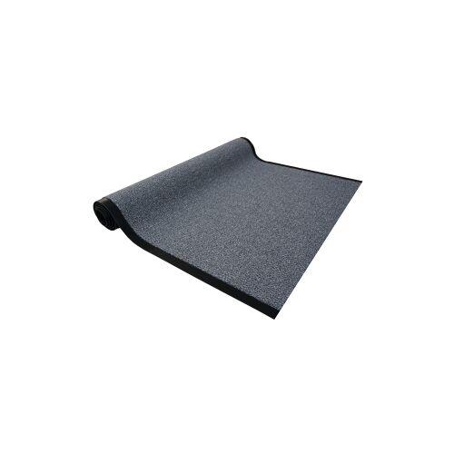 Otto-Golze & Söhne GmbH Golze Granat Schmutzfangmatte, 60 x 80cm, Schmutzfang für feinen Schmutz und Nässe, Farbe: grau