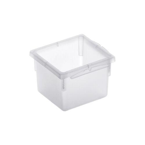 Rotho Kunststoff AG Rotho BASIC Schubladen-Ordnungssystem, transparent, Schubladen-Ordnungssystem aus Kunststoff , Maße: 80 x 80 x 50 mm