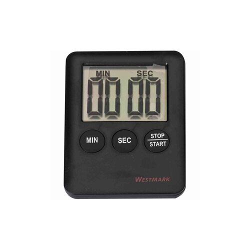 Westmark GmbH WESTMARK Kurzzeitmesser, Sekundengenaue Einstellung bis 99 Minuten und 59 Sekunden, Inklusive Batterie, 1 x LR 1130, 1,5V