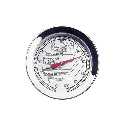Küchenprofi GmbH Küchenprofi Bratenthermometer, Temperaturmesser mit einem Messbereich von 0°C – 120°C, Durchmesser: 5,4 cm