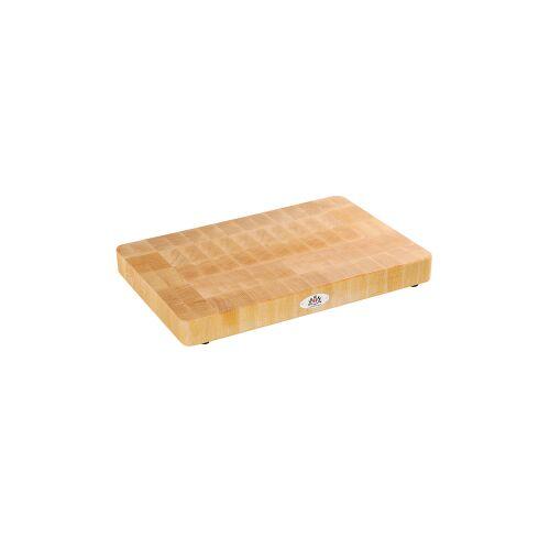 Zassenhaus International GmbH Zassenhaus Hackblock, Butcher Board aus massivem Stirnholz, Maße ( L x B x H): 45 x 30 x 4,5 cm