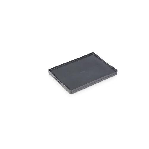 DURABLE · Hunke und Jochheim GmbH & Co. KG DURABLE Coffee Point Tray Tablett, Praktisches Serviertablett aus hochwertigem Kunststoff für den Geschirrtransport, Farbe: anthrazit