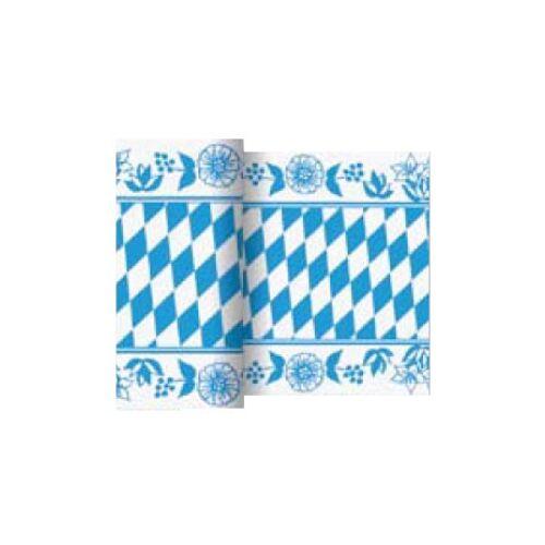 Duni GmbH & Co. KG DUNI Saisonaktion O´zapft is! Tischläufer, Tischdecke mit Bayerische Raute, 1 Karton = 6 Läufer á 20 Meter x 15 cm