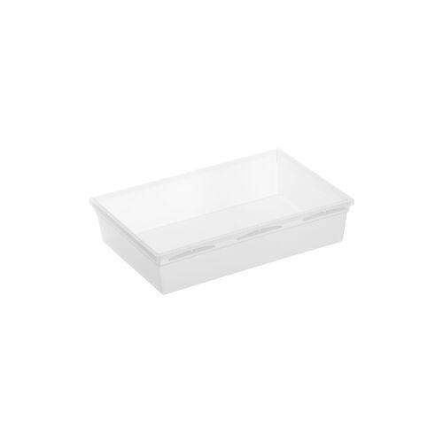 Rotho Kunststoff AG Rotho BASIC Schubladen-Ordnungssystem, transparent, Schubladen-Ordnungssystem aus Kunststoff , Maße. 230 x 150 x 50 mm