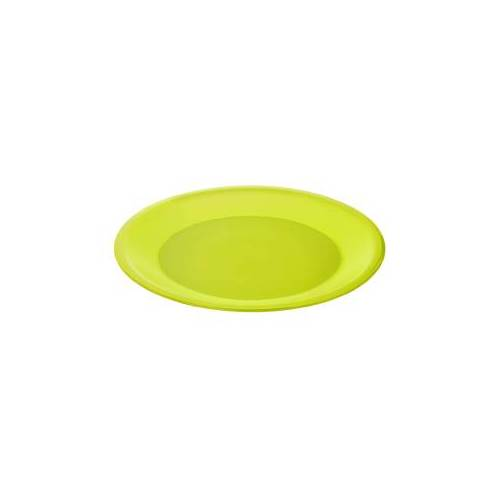 Rotho Kunststoff AG Rotho CARUBA Teller, tief, Maße: 210 x 210 x 35 mm, Kunststoff, Farbe: lime grün