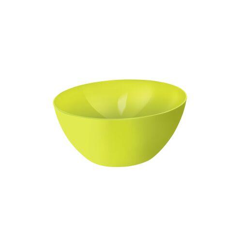 Rotho Kunststoff AG Rotho CARUBA Schüssel, 8 Liter, Schüssel aus Kunststoff, Maße: 340 x 340 x 150 , Farbe: lime grün
