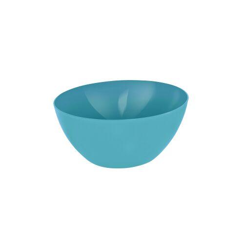 Rotho Kunststoff AG Rotho CARUBA Schüssel, 8 Liter, Schüssel aus Kunststoff, Maße: 340 x 340 x 150 , Farbe: aqua blau