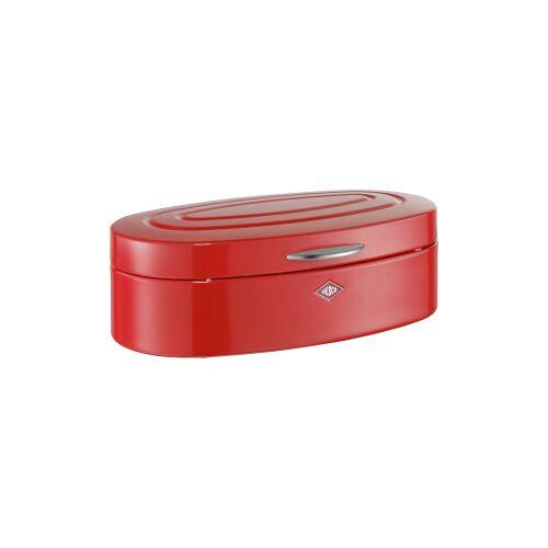 M. Westermann & Co. GmbH Wesco Elly Brotkasten, für die Aufbewahrung von Brot, Brötchen, Gebäck oder Kuchen, Farbe: rot