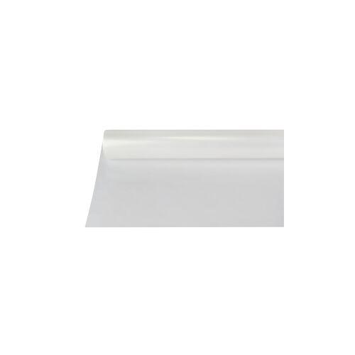 PAPSTAR  GmbH Papstar Tischdecke, Folie, transparent, 50 m x 80 cm, Abwaschbare und recycelbare Gartentischdecke, 1 Rolle à 50 m