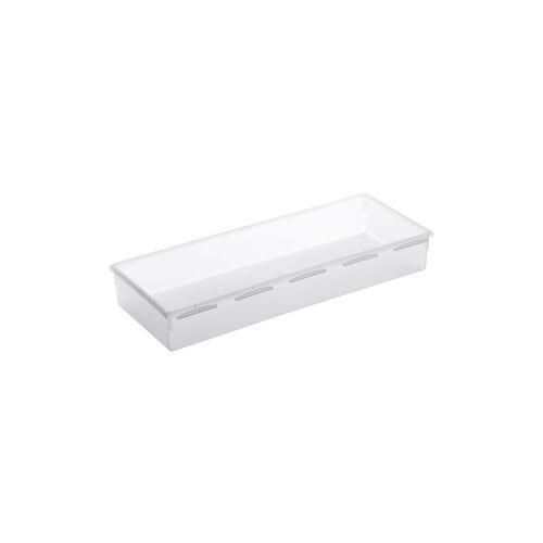 Rotho Kunststoff AG Rotho BASIC Schubladen-Ordnungssystem, transparent, Schubladen-Ordnungssystem aus Kunststoff , Maße: 380 x 150 x 50 mm