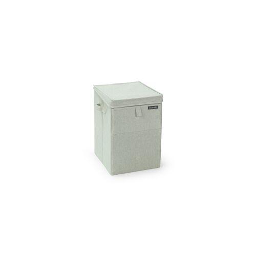 Brabantia International B.V. Brabantia Stapelbare Wäschebox, 35 Liter, Wäschesammler ideal zum Sortieren Ihrer Wäsche, Farbe: Green
