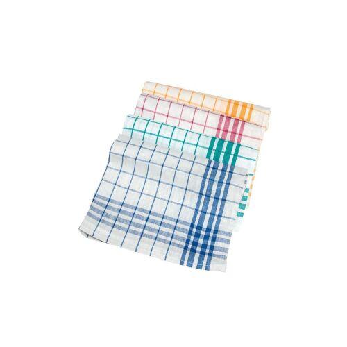 meiko Textil GmbH Meiko Dessin 1221 Geschirrtuch , Trockentuch aus Baumwolle, Farbe: gelb/weiß, Maße: 50 x 70 cm