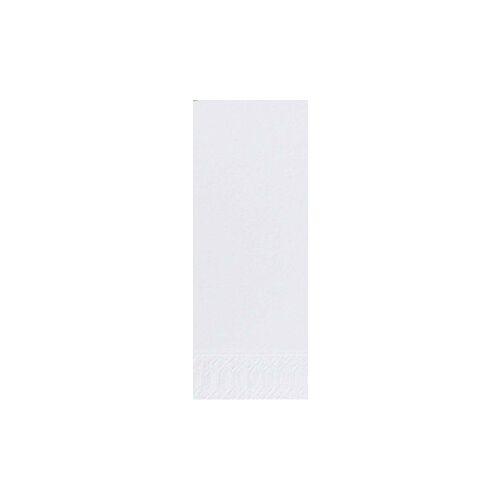 Duni GmbH & Co. KG DUNI Servietten, 36 x 36 cm, 3-lagig, 1/8 Falz, 1 Karton = 4 x 250 Stück = 1.000 Stück, weiß