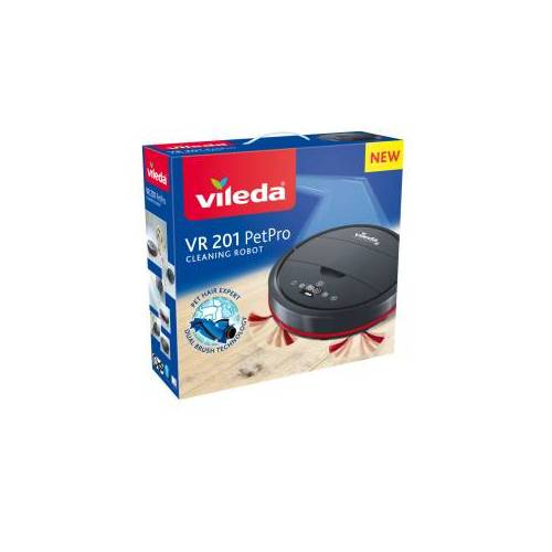 Vileda GmbH Vileda VR 201 PetPro Saugroboter, Saugroboter für alle Bodenarten, 1 Stück