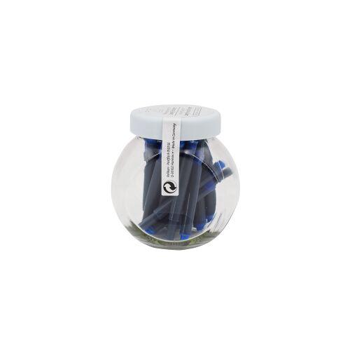 Pelikan LAMY Tintenpatronen, Ersatzpatrone für Lamy Füller, 1 Glas = 25 Stück, blau