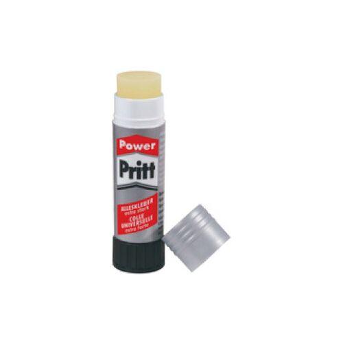 Power Pritt - Alleskleber Klebestift, Extra starker und farbloser Kleber für höchste Endfestigkeit, 1 Stück, 19,5 g