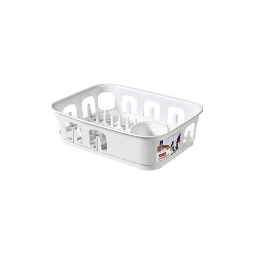 Curver Luxembourg S.a.r.l CURVER ESSENTIALS Geschirrständer, Geschirrabtropfgitter aus Kunststoff, Maße (L x T x H): 39,1 x 29 x 10,9 cm