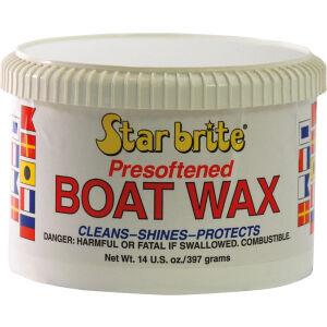 Star brite Nederland BV Star brite Vorgeweichtes Boots Wachs, Leicht anwendbare, vorgeweichte Wachs Formel, 397 g - Dose