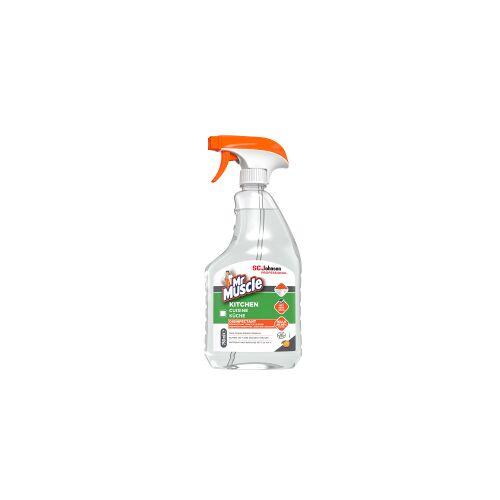 SC Johnson GmbH Mr Muscle® Küchenreiniger, Reinigt Fett und Schmutz in stark frequentierten Großküchen, 0,75 Liter - Flasche