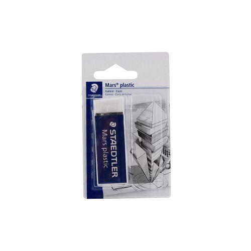 Staedtler Mars® 526 Plastic Radierer, Radiergummi in Premium-Qualität, 1 Stück, 65 x 23 x 13 mm