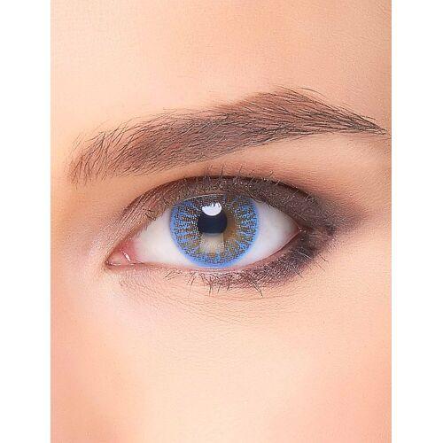Vegaoo Himmlische Kontaktlinsen Make-up Zubehör blau