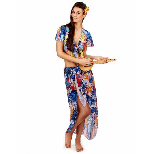 Vegaoo Urlauberinkostüm Hawaii für Damen